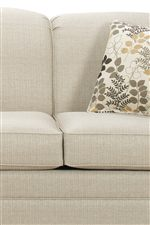 Arched Back Cushions and Boxed Seat Cushions with Welt Trim