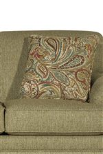 Included Toss Pillows in Your Choice of Fabrics