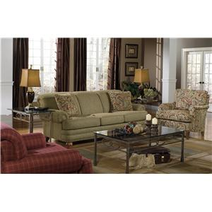 Craftmaster 7281 Stationary Living Room Group