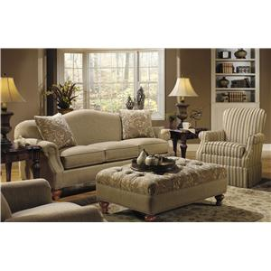 Craftmaster 728300 Stationary Living Room Group
