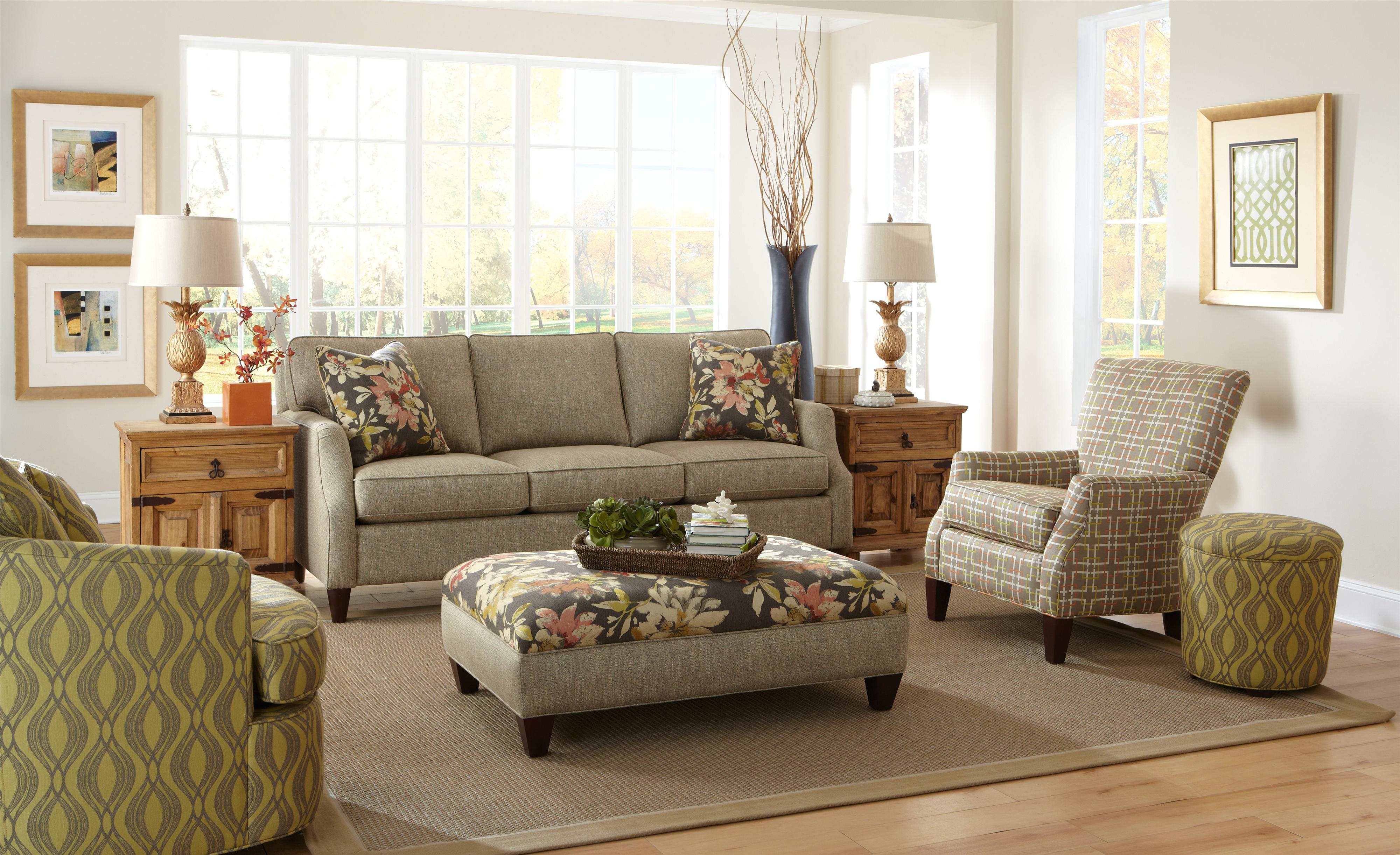 Craftmaster 736400 Stationary Living Room Group - Item Number: 736400 Living Room Group 1