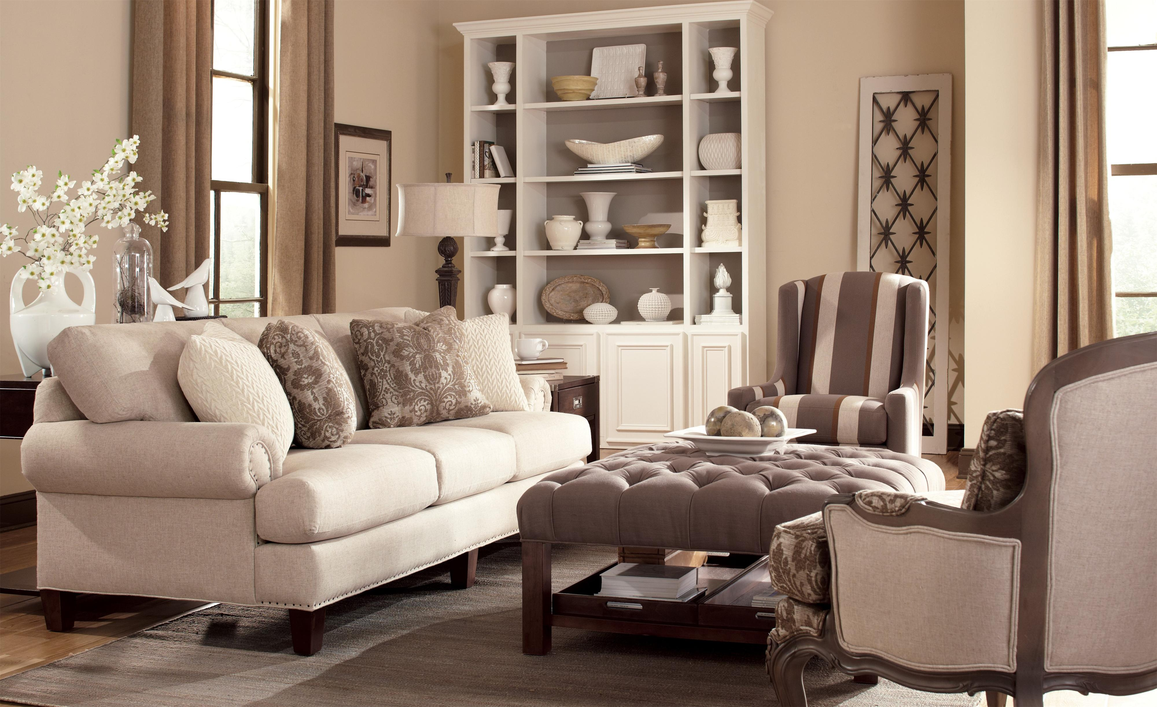 Craftmaster 7405 Stationary Living Room Group Boulevard Home Furnishings Upholstery Group