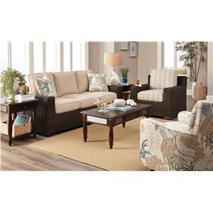 Craftmaster 750800 Stationary Living Room Group