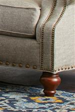 This Style Available with Our Designer Package of Large and Small Nailheads