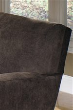 Tight Attached Back Cushion Creates Clean Lines
