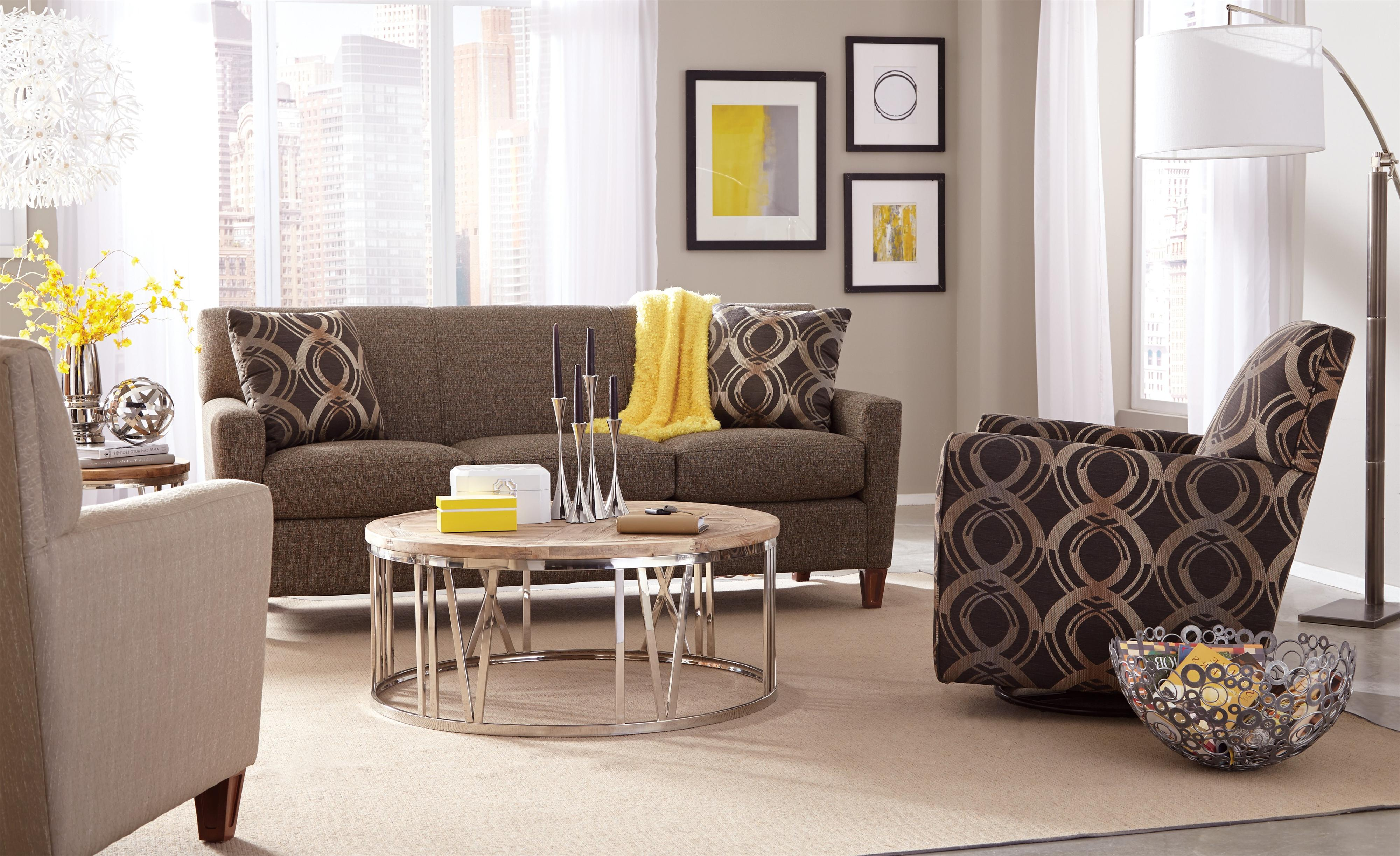 7864 Stationary Living Room Group by Craftmaster at Esprit Decor Home Furnishings