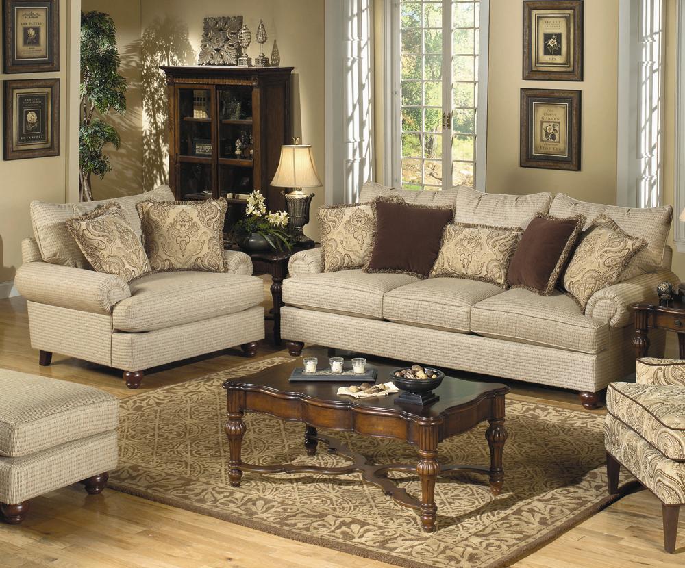 7970 Stationary Living Room Group by Craftmaster at Bullard Furniture