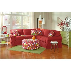 Craftmaster Gabi Stationary Living Room Group