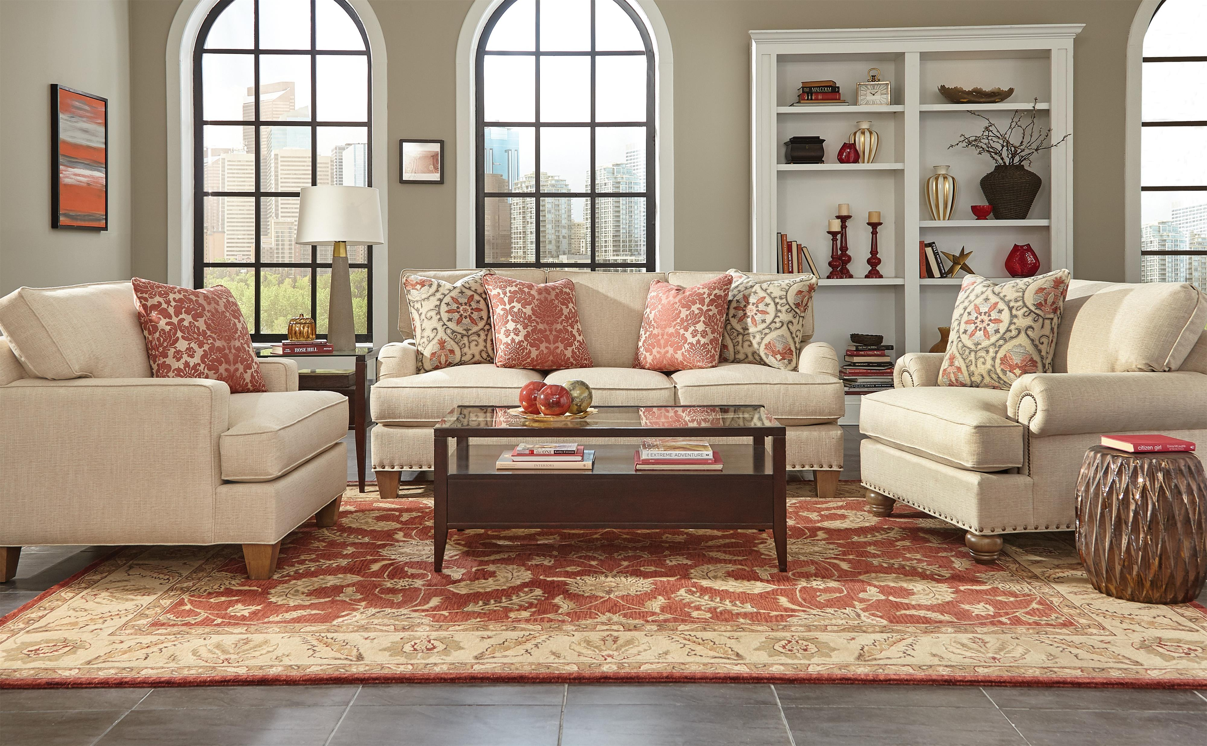 Custom Living Room Group