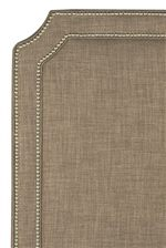 Angled Edge with Nailhead Accents