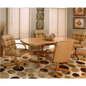 Cramco, Inc Cramco Motion - Atwood Rectangular Casual Dinner Table