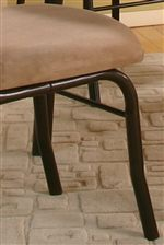 Cappucino Microsuede Padded Seat
