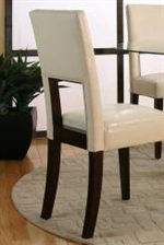 Parson's Chair Available with Square Back