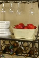 Store Delicate Glassware, Wine or Other Items Within Storage Areas.