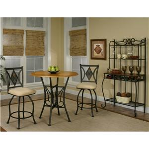 Cramco, Inc Cramco Trading Company - Dart Three Piece Dining Set