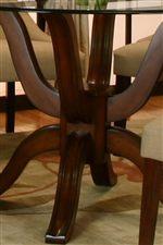 Single Pedestal Base with Branching Legs
