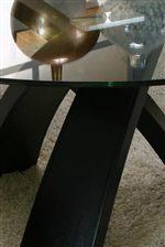 Tri-Leg Wood Table Base