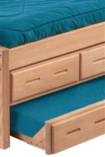 Under Bed Storage and Trundle Options