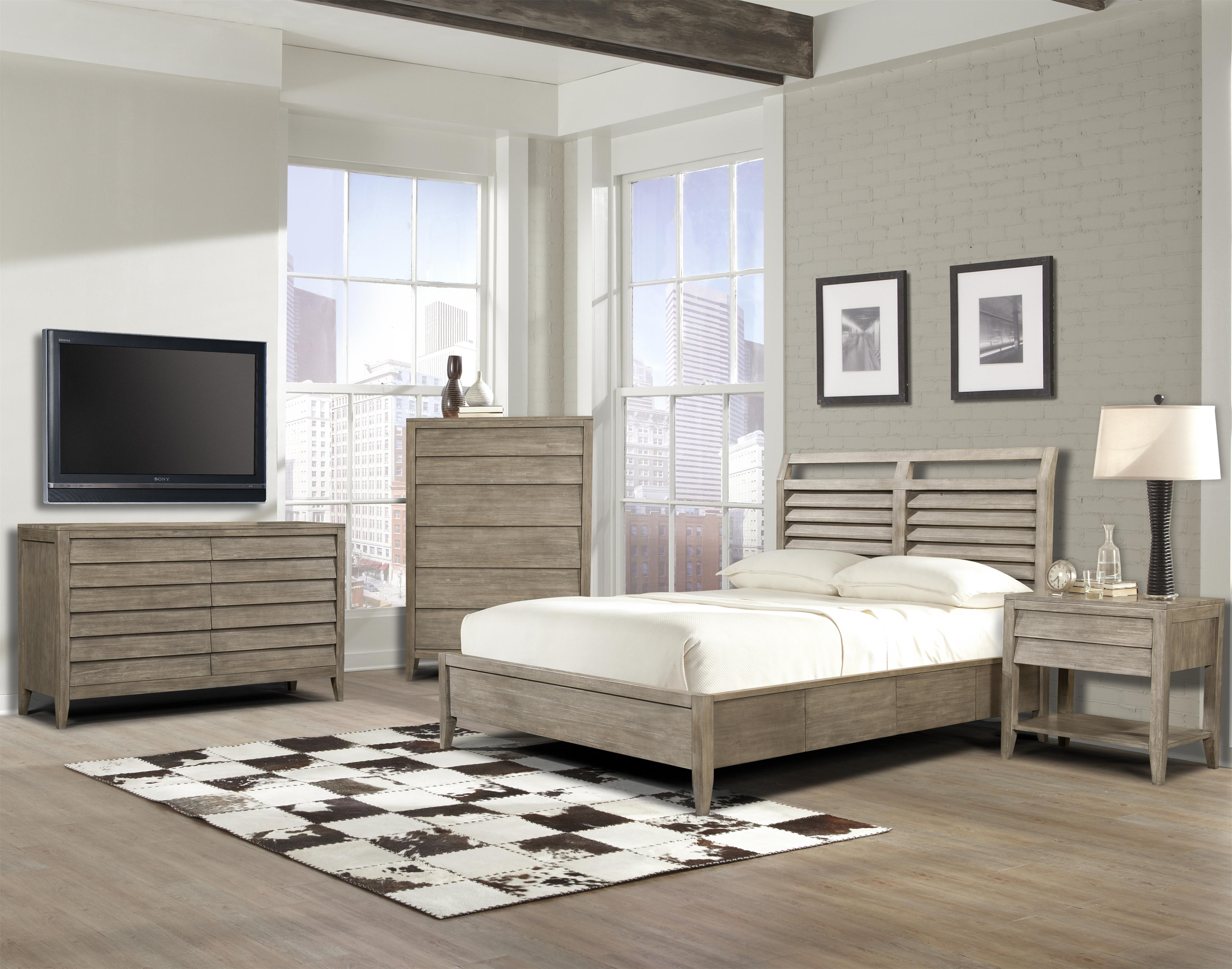 Cresent Fine Furniture Corliss Landing Cal King Bedroom Group - Item Number: 5600 CK Bedroom Group 3