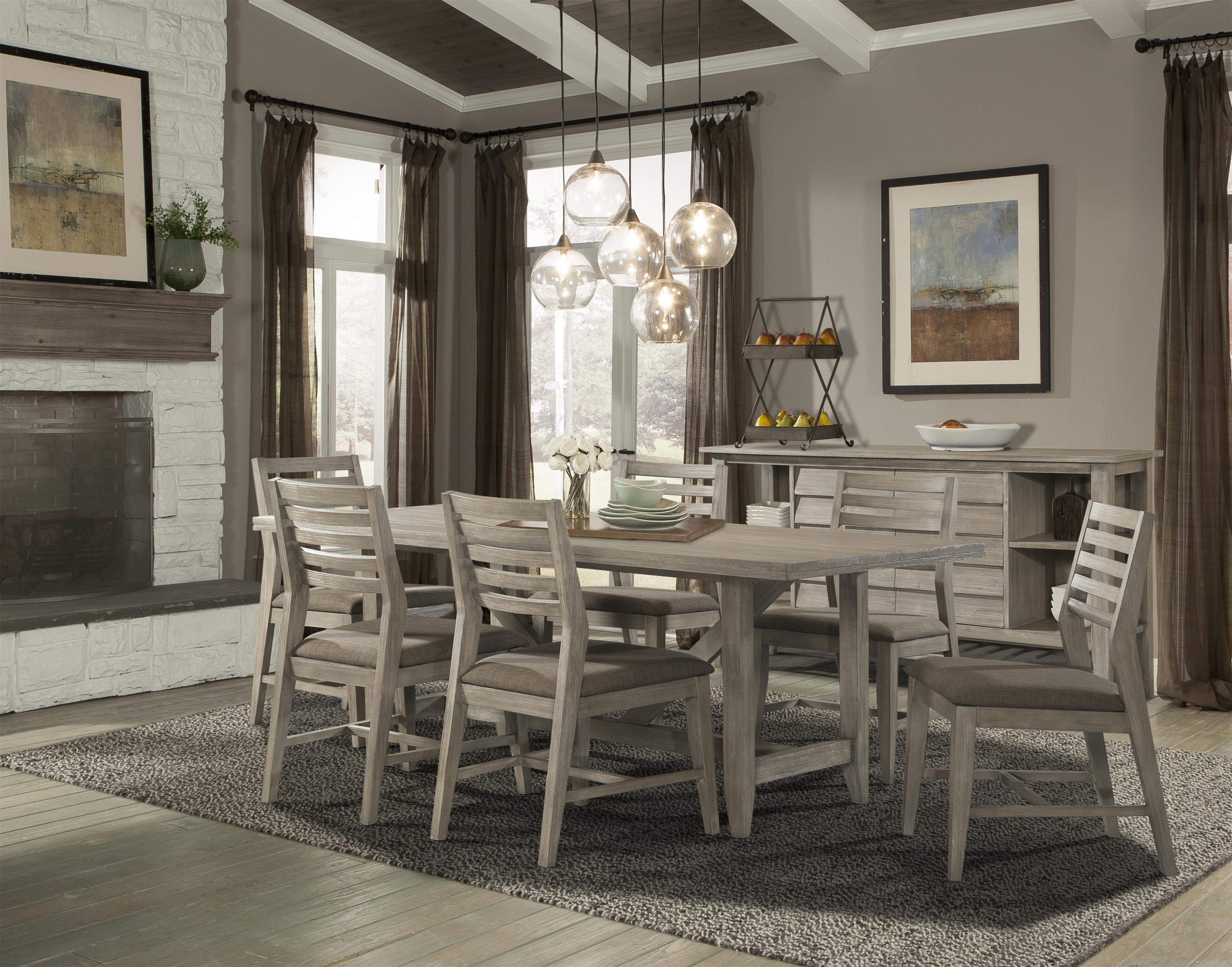 Cresent Fine Furniture Corliss Landing Casual Dining Room Group - Item Number: 5600 Dining Room Group 1