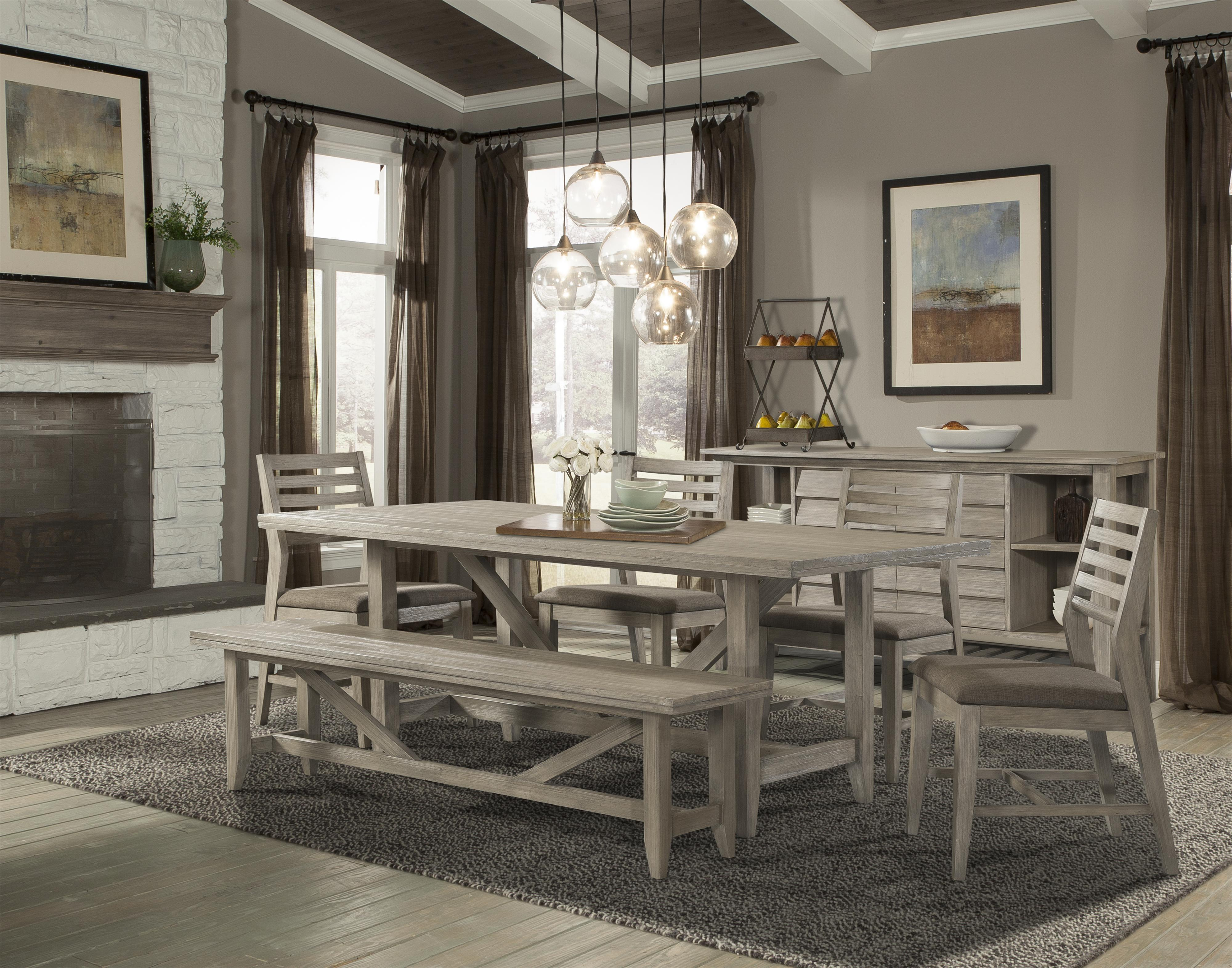 Cresent Fine Furniture Corliss Landing Casual Dining Room Group - Item Number: 5600 Dining Room Group 2