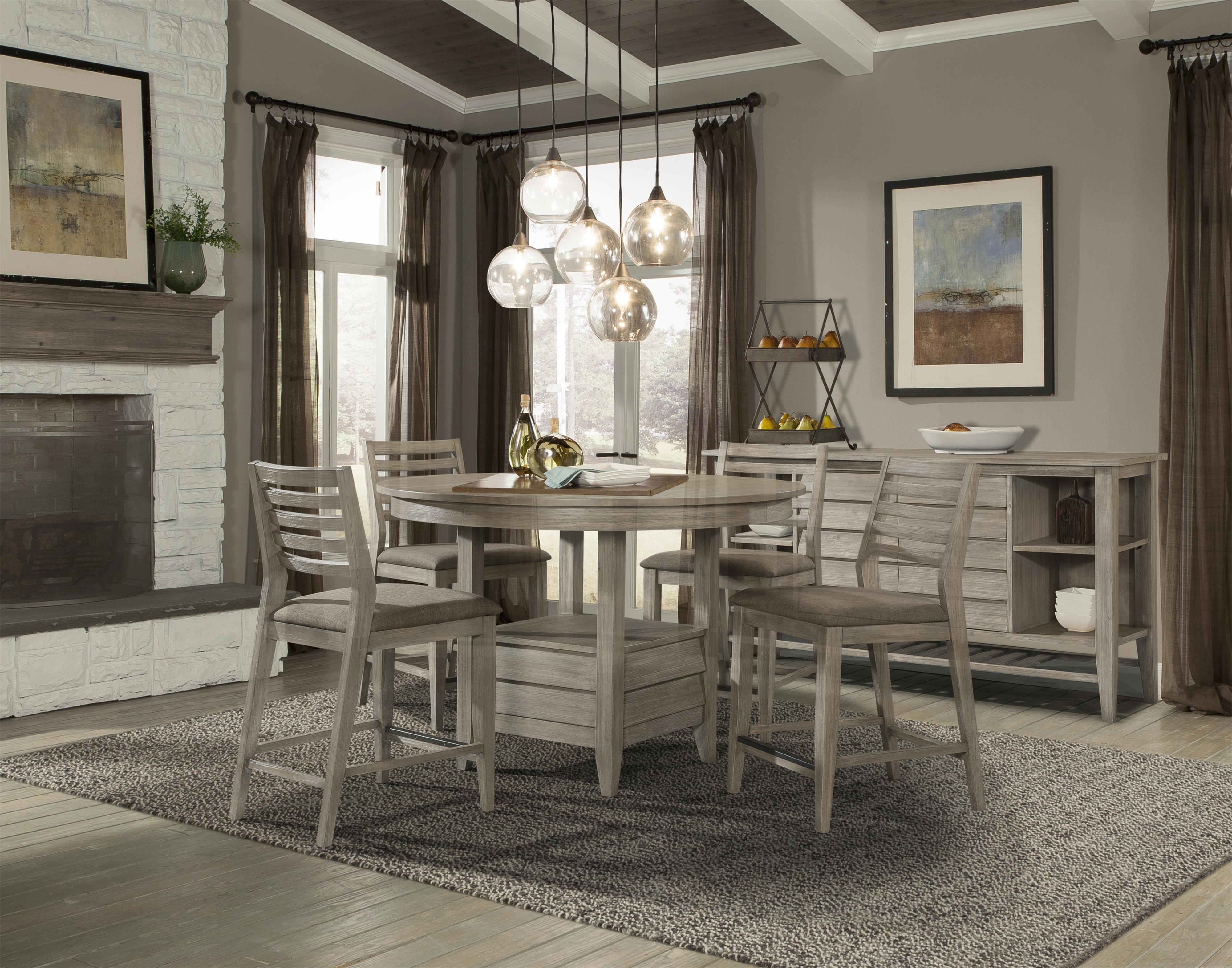 Cresent Fine Furniture Corliss Landing Casual Dining Room Group - Item Number: 5600 Dining Room Group 3