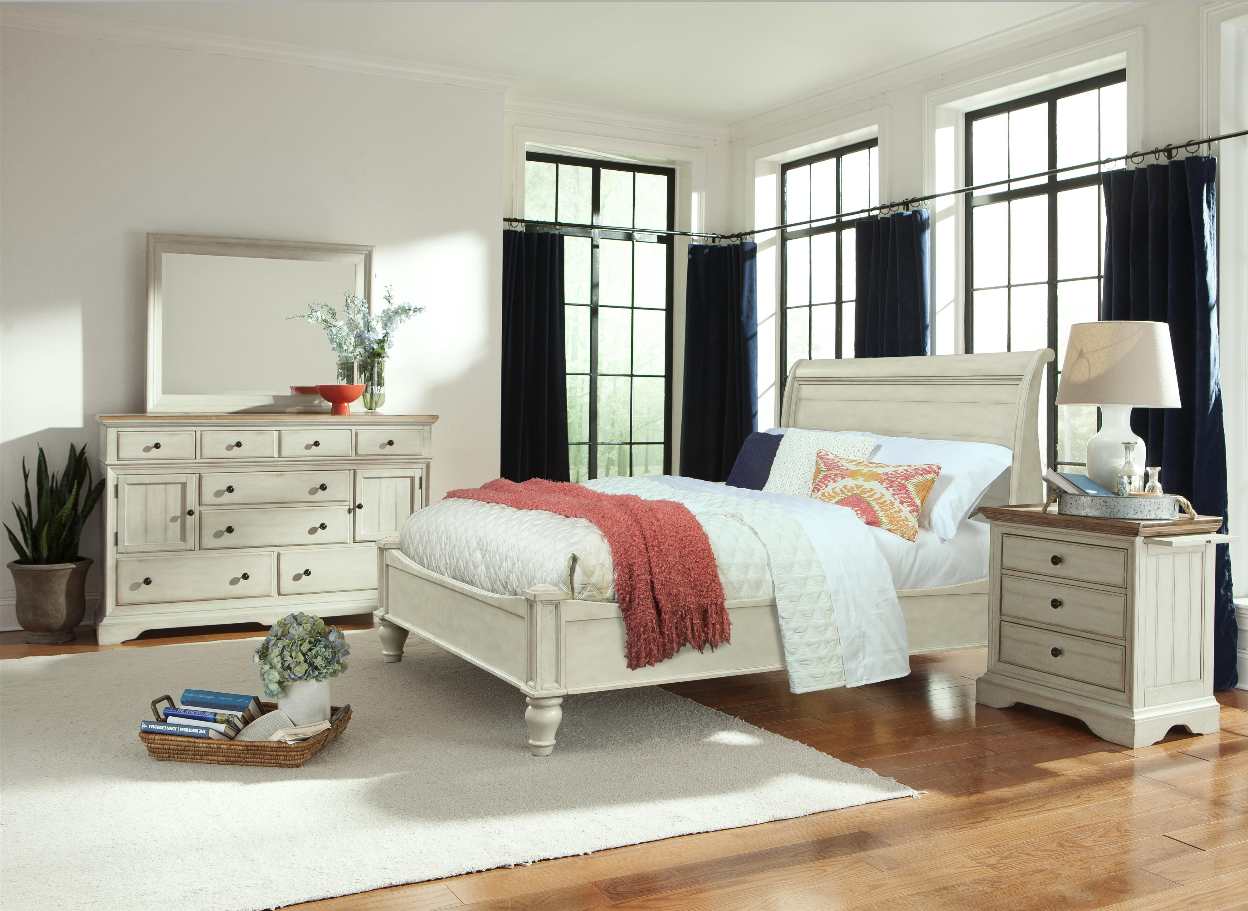 Cresent Fine Furniture Cottage Queen Bedroom Group - Item Number: 201 Q Bedroom Group 1