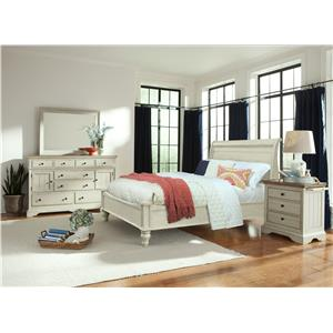 Cresent Fine Furniture Cottage Queen Bedroom Group