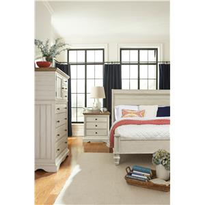 Cresent Fine Furniture Cottage Cal King Bedroom Group