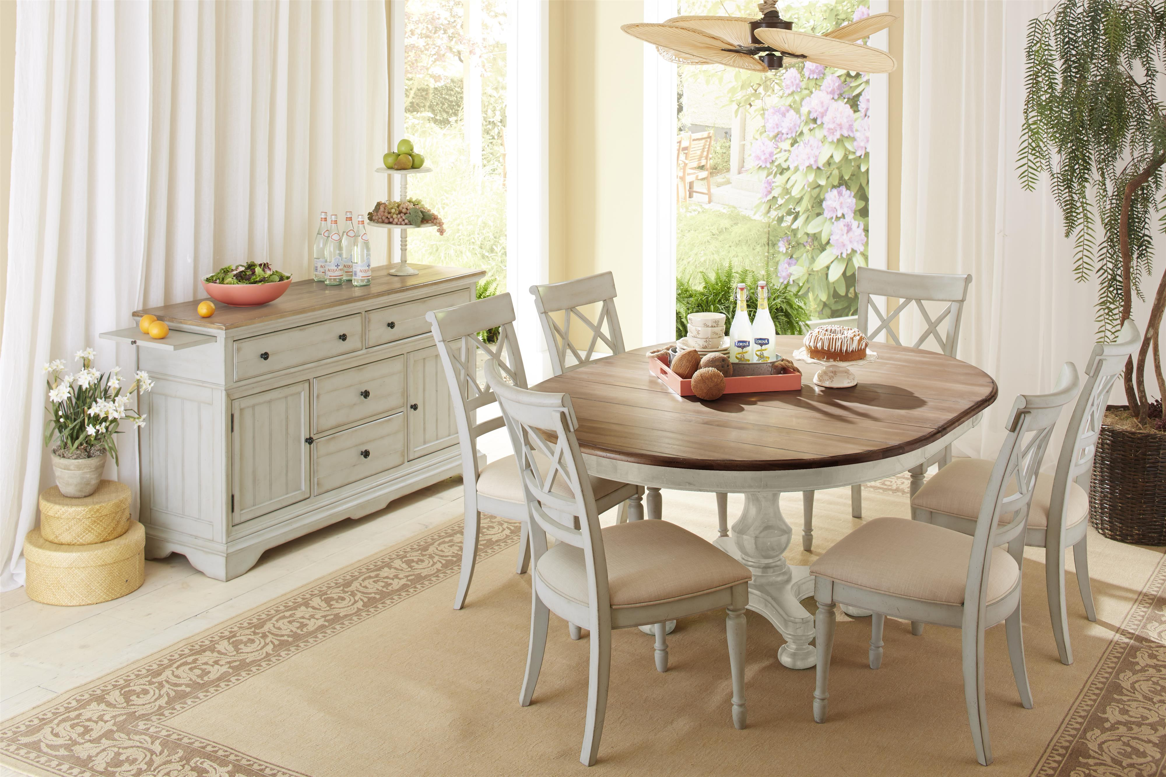 Cresent Fine Furniture Cottage Casual Dining Room Group - Item Number: 201 Dining Room Group 3
