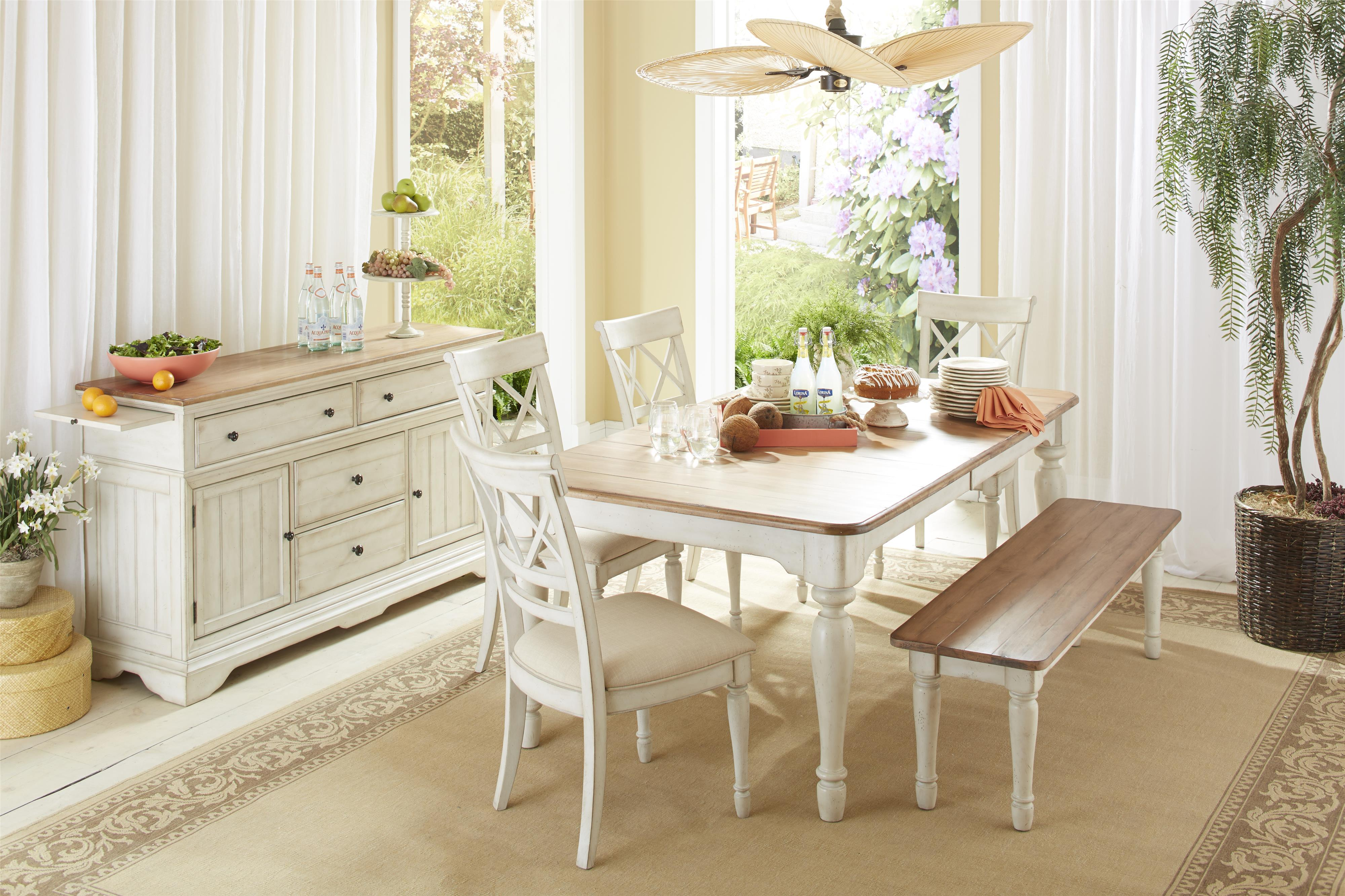 Cresent Fine Furniture Cottage Casual Dining Room Group - Item Number: 201 Dining Room Group 2