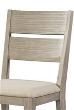 Quintessential Ladder Back Design