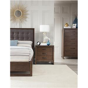 Cresent Fine Furniture Mercer Queen Bedroom Group