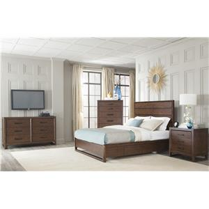 Cresent Fine Furniture Mercer King Bedroom Group