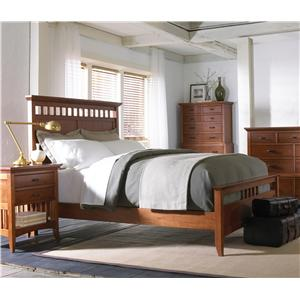 Cresent Fine Furniture Cresent Classics - Modern Shaker King Bedroom Group