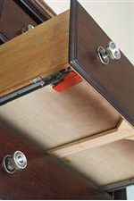 Whisper Quiet Drawer Glides Provide Strength and Durability