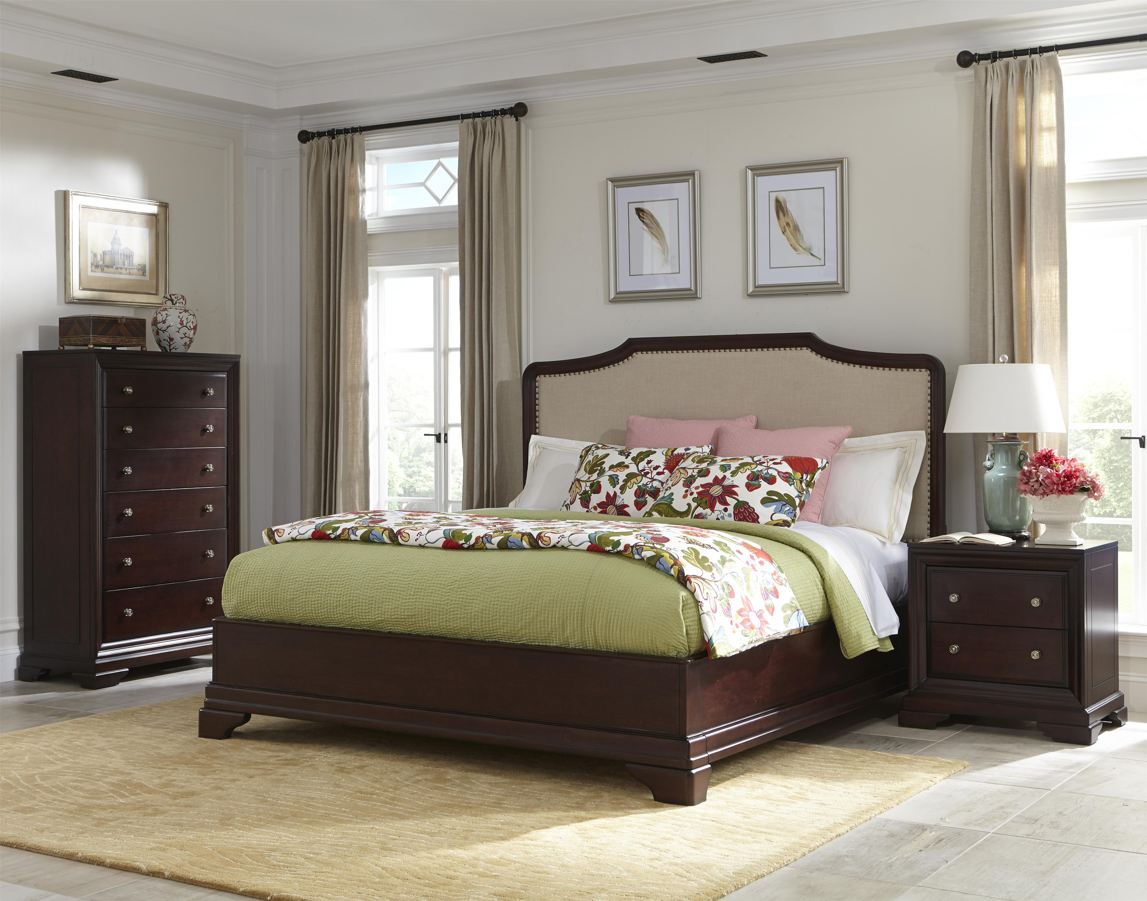 Cresent Fine Furniture Newport Cal King Bedroom Group - Item Number: 1800 CK Bedroom Group 2