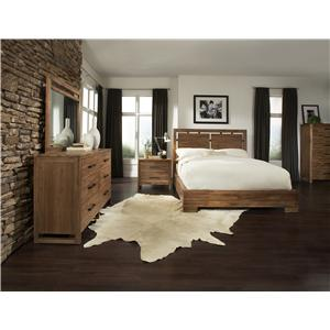 Cresent Fine Furniture Waverly Queen Bedroom Goup