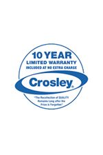 Every Crosley Liance Comes With A First Year Parts And Labor Warranty Plus Their Exclusive 10 Limited
