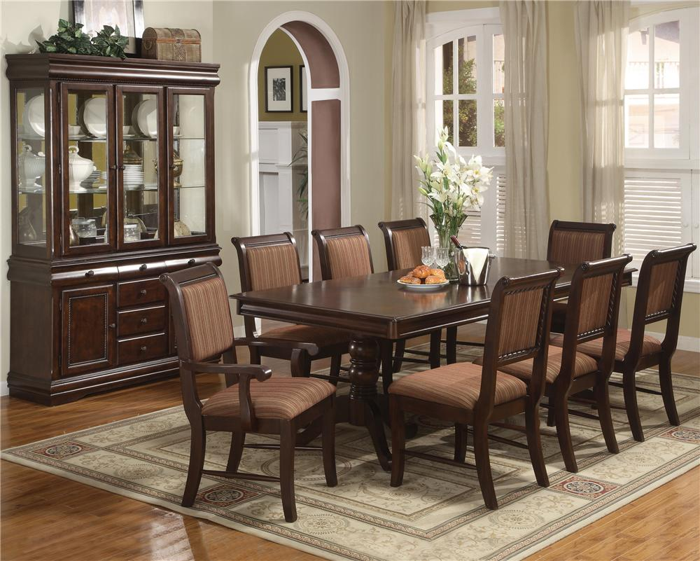 Crown Mark Merlot Formal Dining Room Group - Item Number: 2145 Dining Room Group 1
