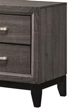 Recessed Drawers and a Bold, Black Base Rail Make for Clean, Uncomplicated Style