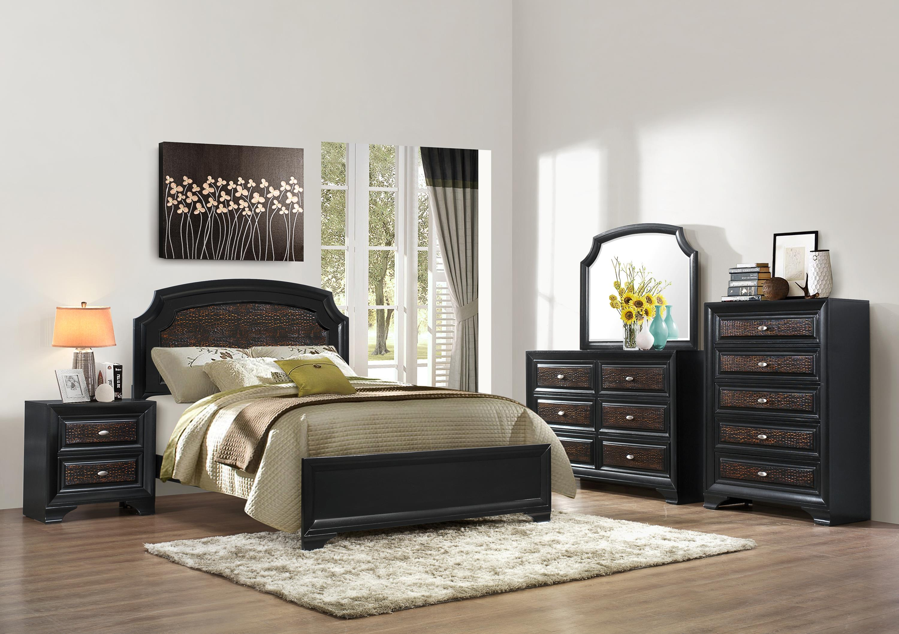 Crown Mark Andros Bedroom Group - Item Number: King Bedroom Group 1