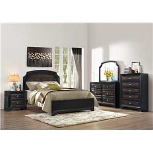 Crown Mark Andros Bedroom Group