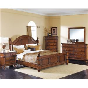 Crown Mark Augusta Queen Bedroom Group
