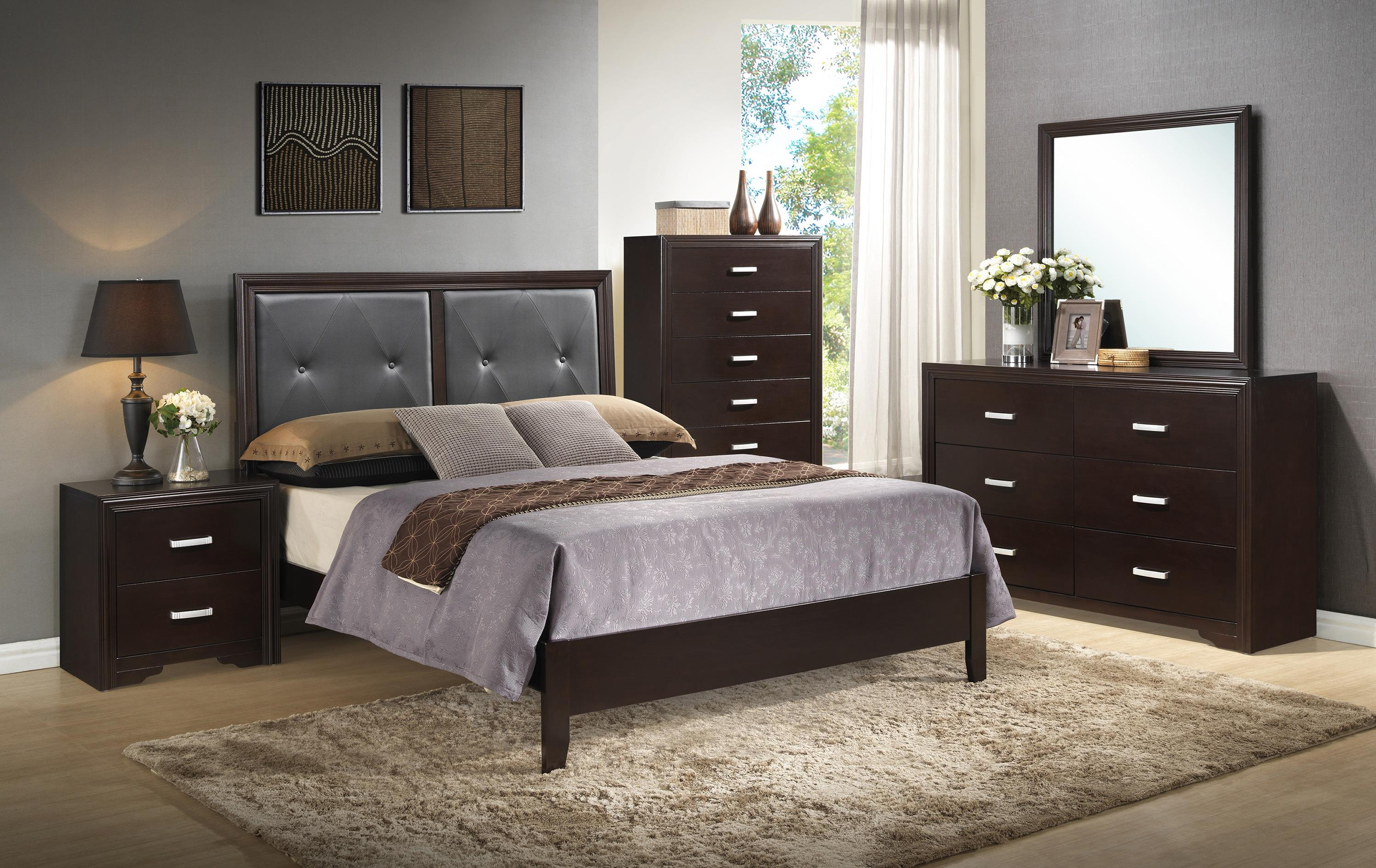 Crown Mark Elijah Bedroom Group - Item Number: B5300 K Bedroom Group