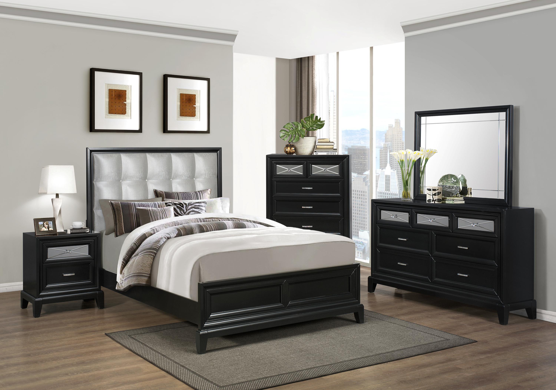 Crown Mark Elisa Queen Bedroom Group - Item Number: B9300 Q Bedroom Group 1