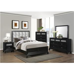 Crown Mark Elisa Queen Bedroom Group