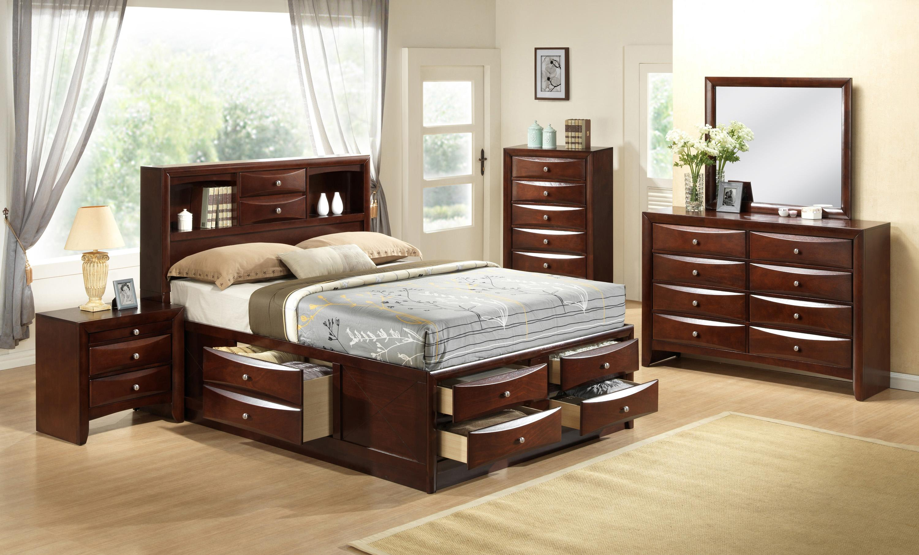 Crown Mark Emily King Bedroom Group - Item Number: B4200 K Bedroom Group 1