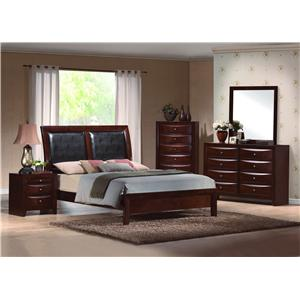 Crown Mark Emily Queen Bedroom Group