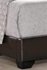 Crown Mark Erin Full Upholstered Platform Bed